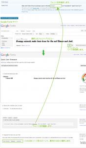 17_GoogleFontsのコード取得