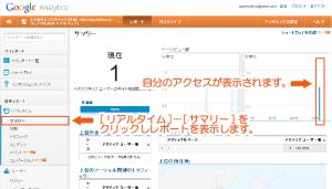 06_GoogleAnalytics動作の確認