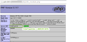 11_CGIプログラム(php)docrootの#!php-cgiなし・phpinfo確認