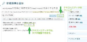04_moreタグのテキストエディタ表示