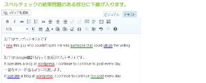 05_スペル&文法チェックの実行結果