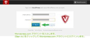 04_Wordpress.comアカウント連携