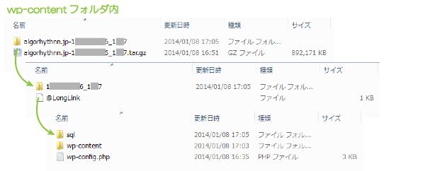 15_解凍後のファイル構成