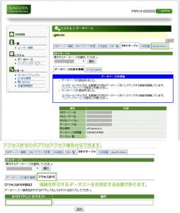 21_データベースの作成完了とアクセス許可