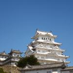 姫路城のクレーン(しろまるひめ号)が下されていました|castlehimeji.com