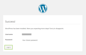 12_WordPress4.0国際版インストール完了