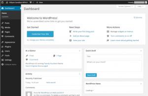 13_WordPress4.0国際版ダッシュボード