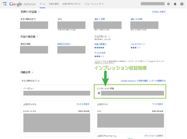 01_AdSenseダッシュボード
