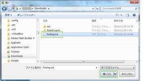 06_インポートファイル指定